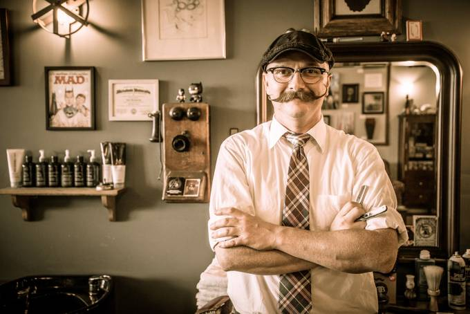 Barber 1 by rinkarnatz - A Hipster World Photo Contest