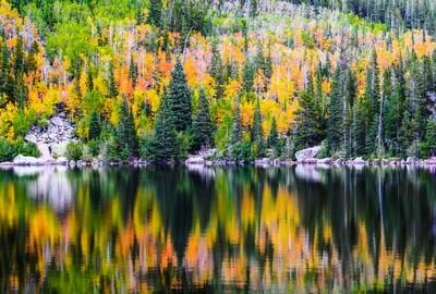 """""""The Changing of Seasons"""" at Bear Lake"""