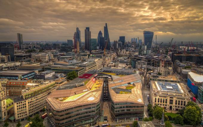 London-Downtown by phillip_brossette - Rooftops Photo Contest 2018