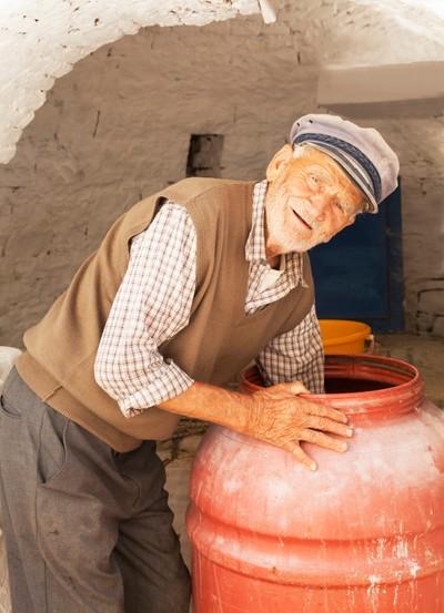 Old Greek Man
