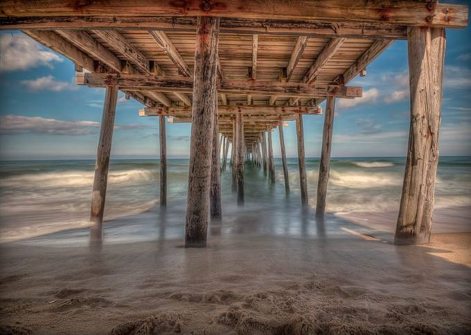 Outer Banks Pier by David-B - Monthly Pro Vol 16 Photo Contest
