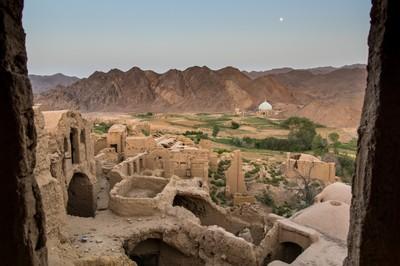 In the desert around Yazd, Iran