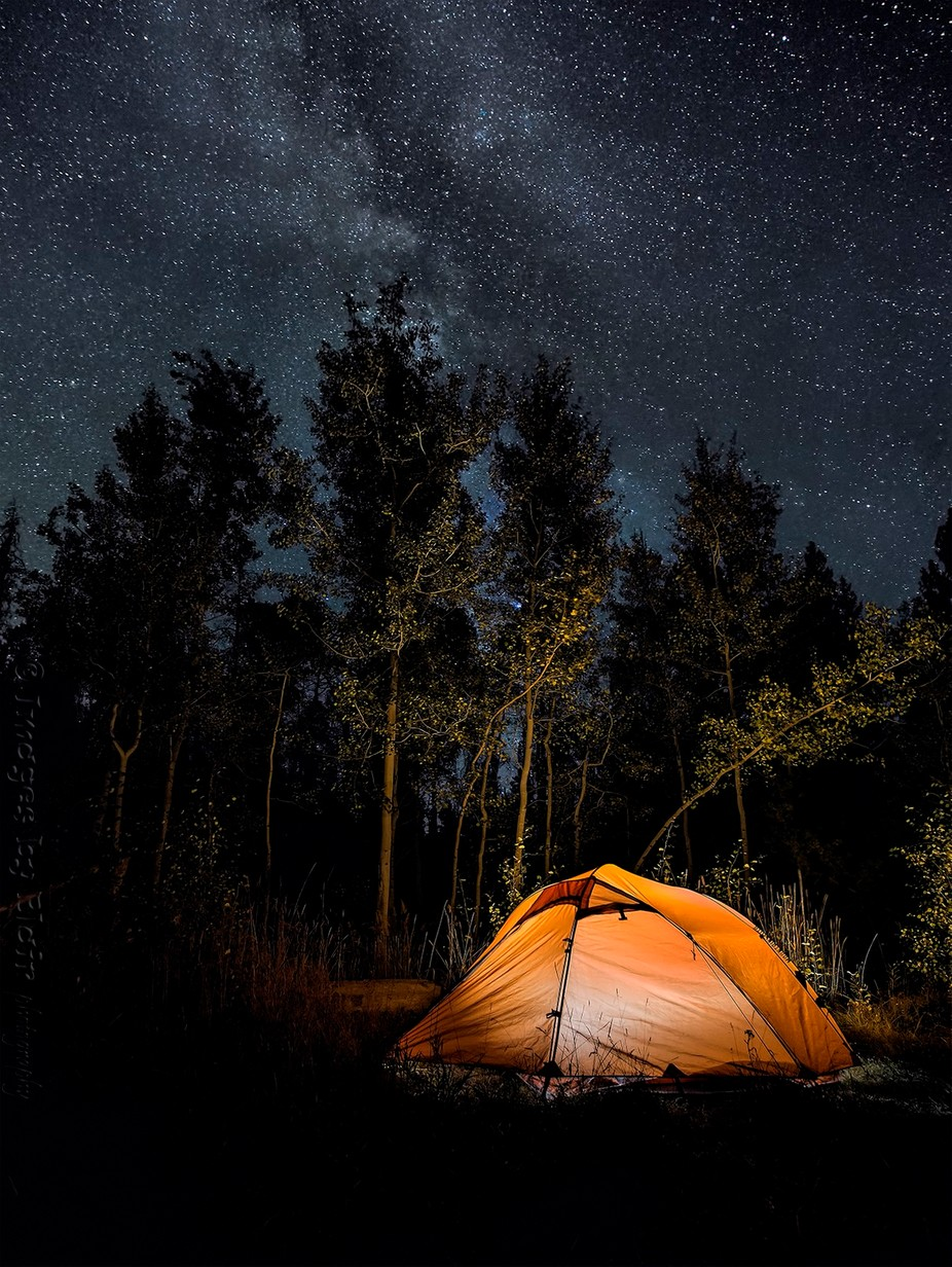 Night Camp by blairwacha - Outdoor Camping Photo Contest
