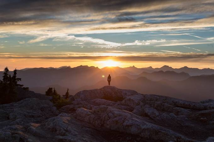 Sunset Bliss by ryanmagdanz - Standing At The Edge Photo Contest