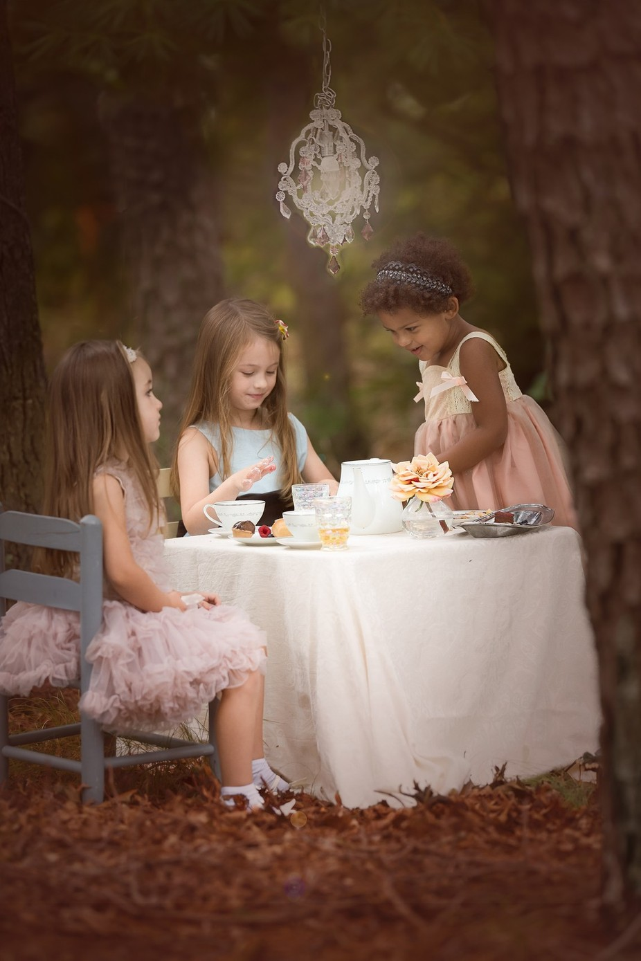 Tea Party by katphotogirl - Youngsters Photo Contest