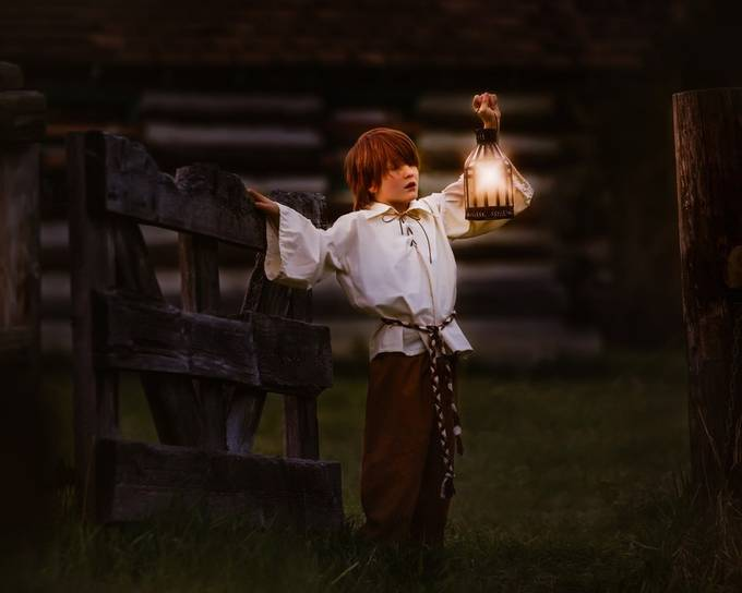 The Stable Boy by JenniferKapala - Creative Reality Photo Contest