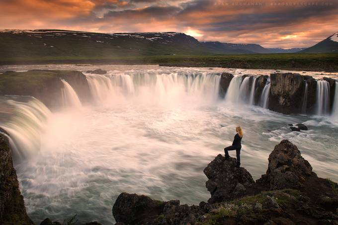 A Woman's Wrath by ryanbuchanan - People And Waterfalls Photo Contest