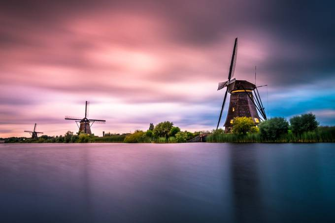 The Windmills by HatcatPhotography - Long Exposure In Nature Photo Contest