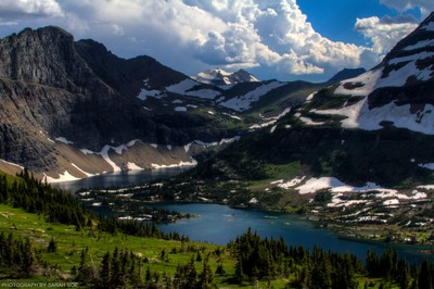 Hidden Lakes and Glacial Cakes