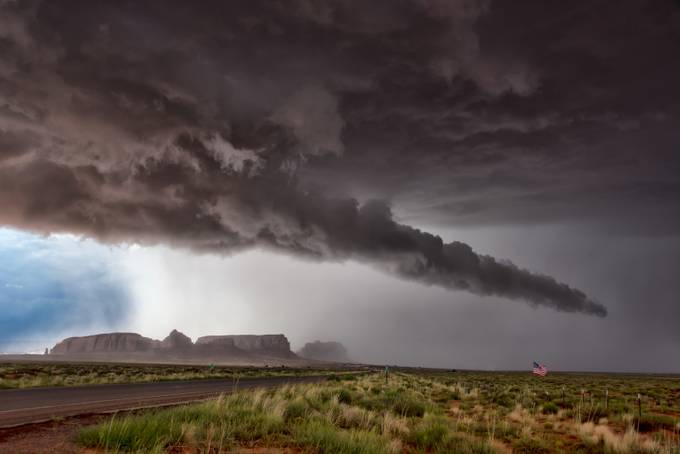 Outrunning the Storm by stacylewismccormack - Creative Travels Photo Contest