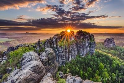 Saxon Sunset