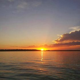 Sunset on Lake Waco