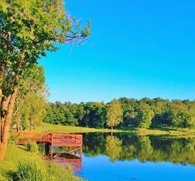 The lake in Bonne Terre Mo