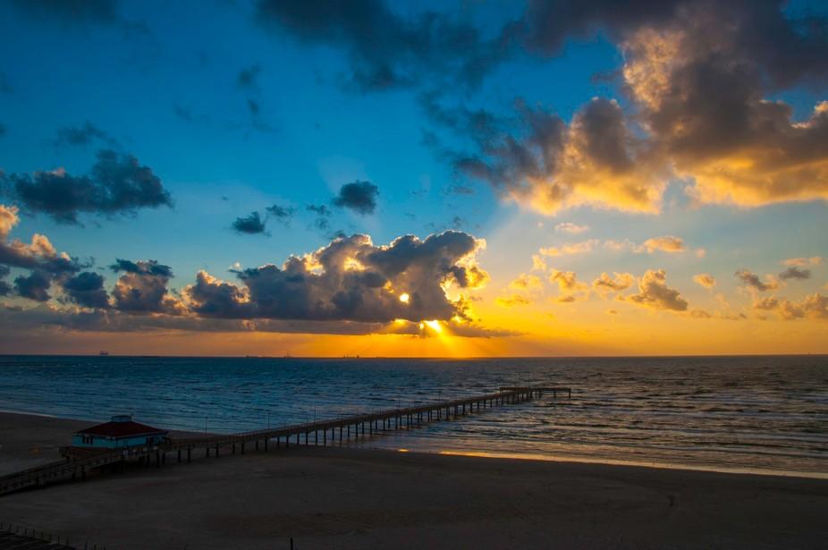 Sunrise in Port Aransas,TX