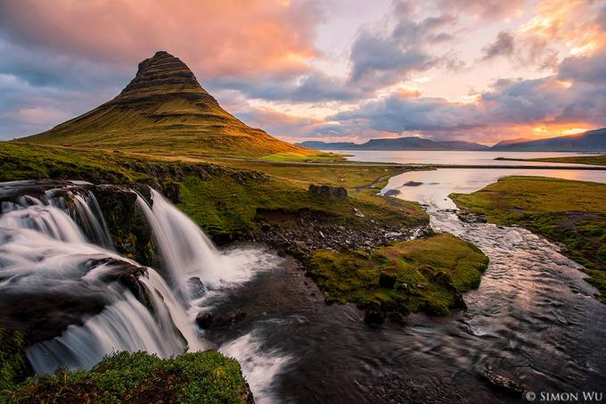 Kirkjufell Sunrise by simonwu - Alluring Landscapes Photo Contest