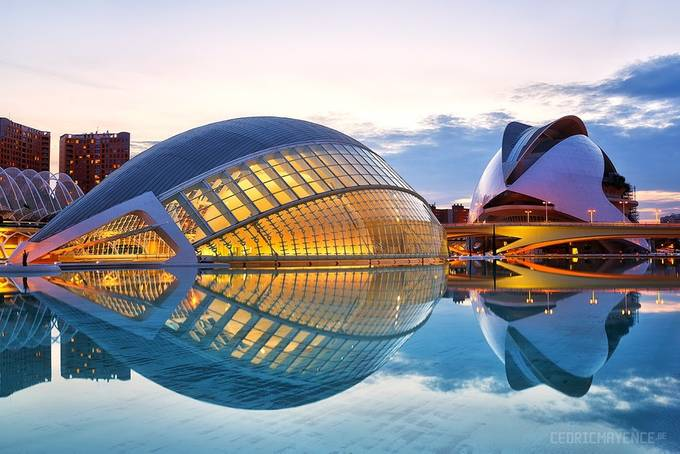 Valencia - City of Arts and Sciences - Spain by CedricMayence - City Views Photo Contest