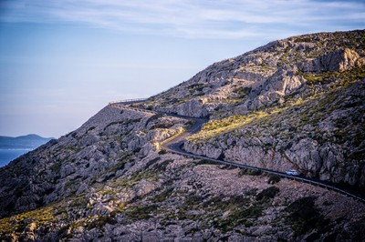 Street to Cap Formentor