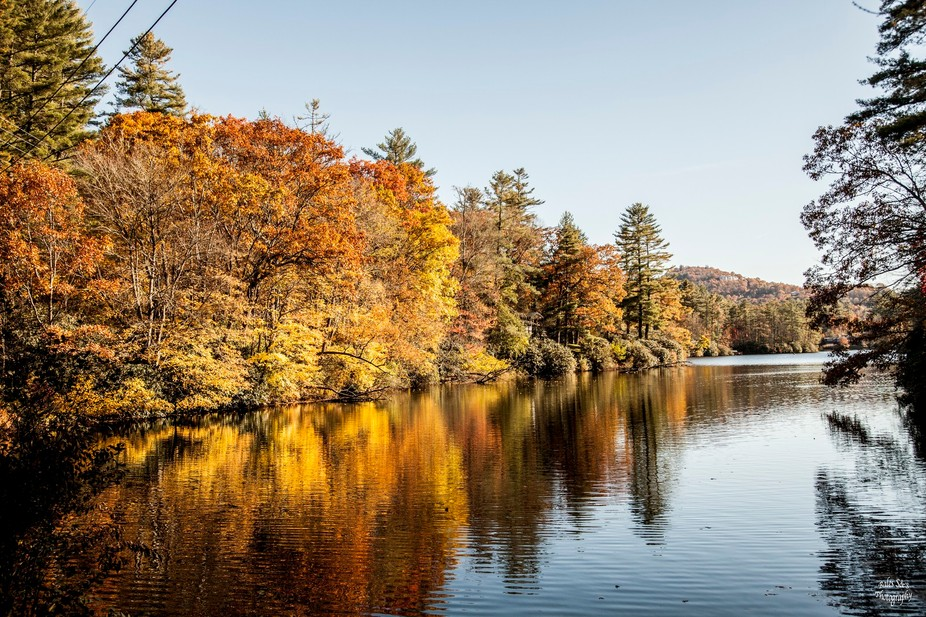 I made this shot in North Carolina. I had viewed this area several times and had to wait for the ...
