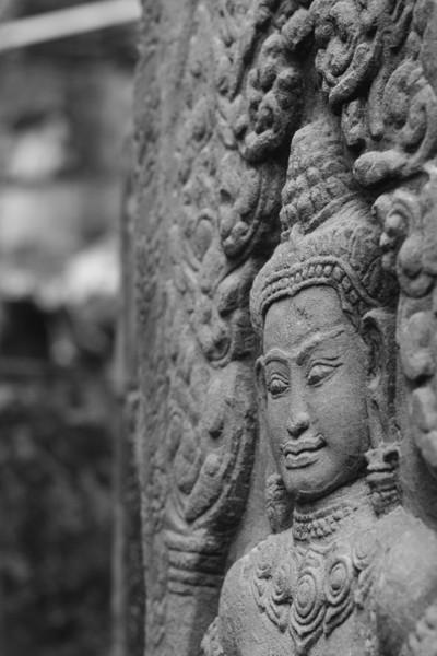Apsara in Angkor Wat, Cambodia
