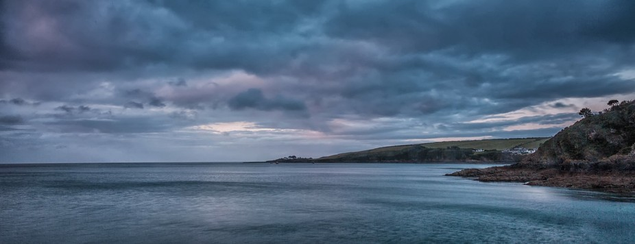 The view towards Portmellon from Mevagissey
