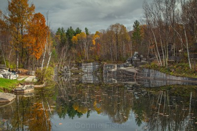 Quarry in Fall #3_