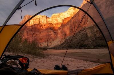 Perfect Grand Canyon campsite