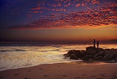 Santa Monica Bay Sunset 03d