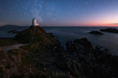 Last Light At Llanddwyn Island