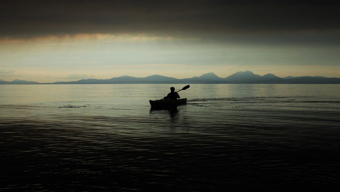 Kayaking in Scotland. by Lewissamuelbell