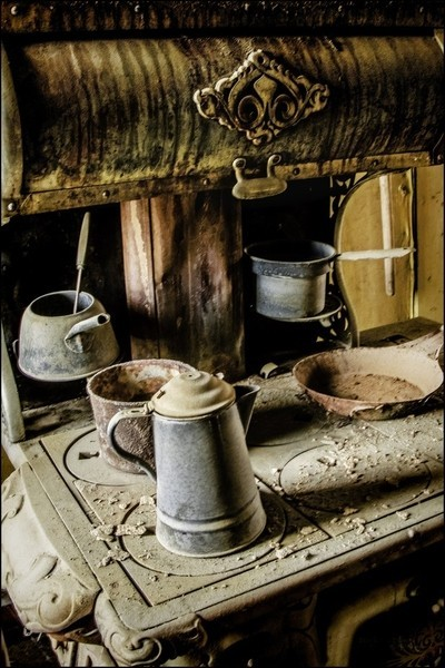 Modern kitchen mess