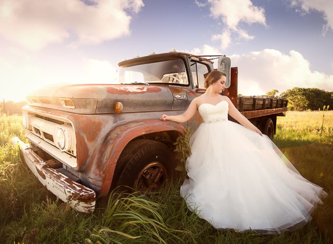 Country Bride by kateluber - Trucks Photo Contest