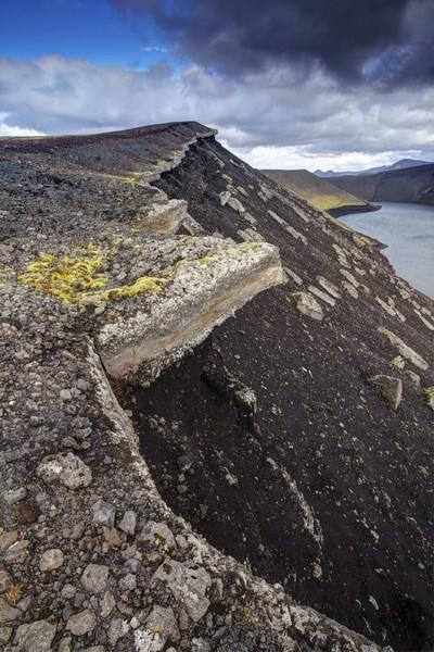 Landmanalaugar crater, Iceland