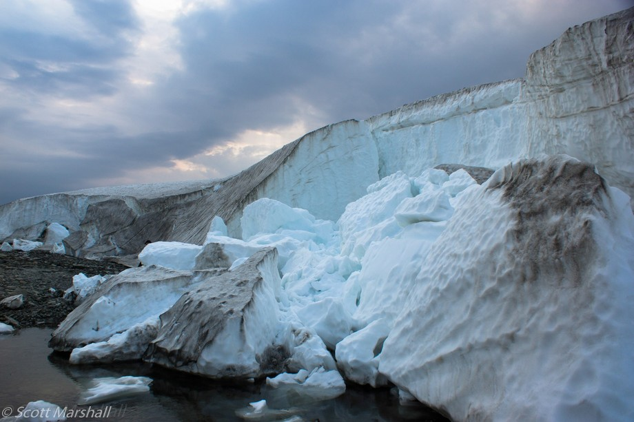 Ice Caves on Ellesmere Island
