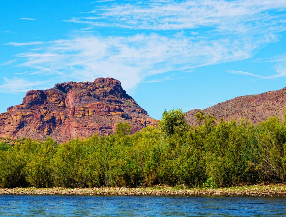 Red Mountain from the Salt River
