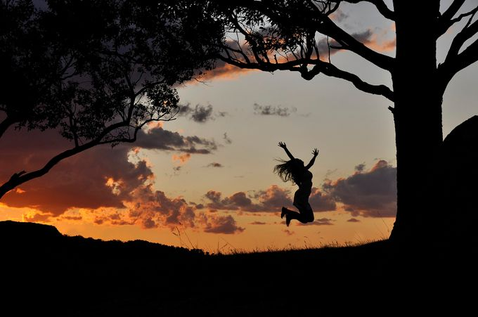 Jump! by rachelphillips - Tree Silhouettes Photo Contest