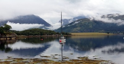 Sailing Boat on still water