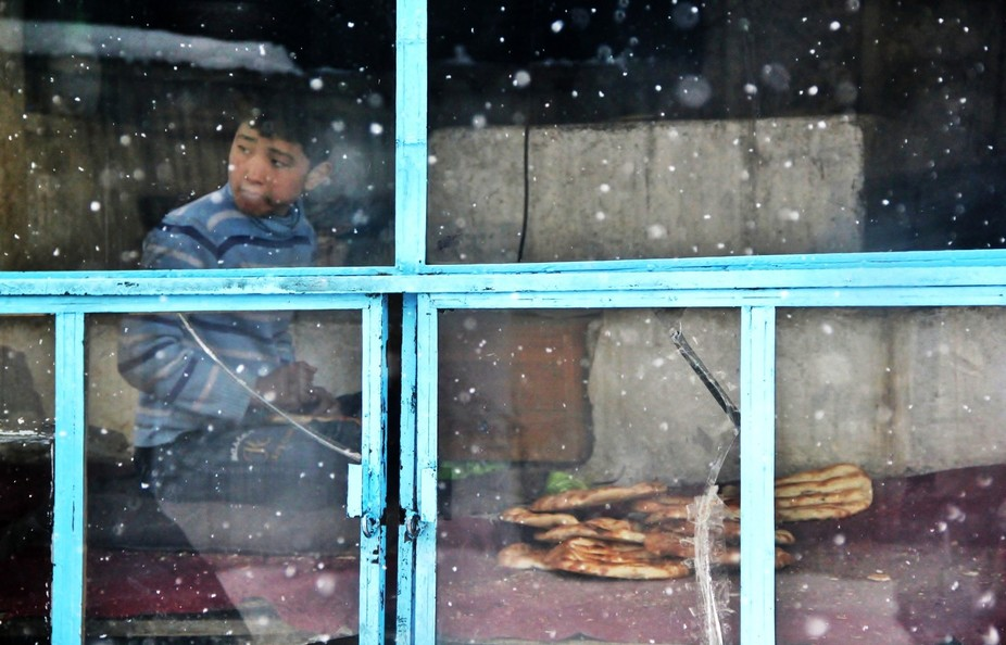 When it snows in Kabul a nice slice of warm bread is what you need Feb 2012
