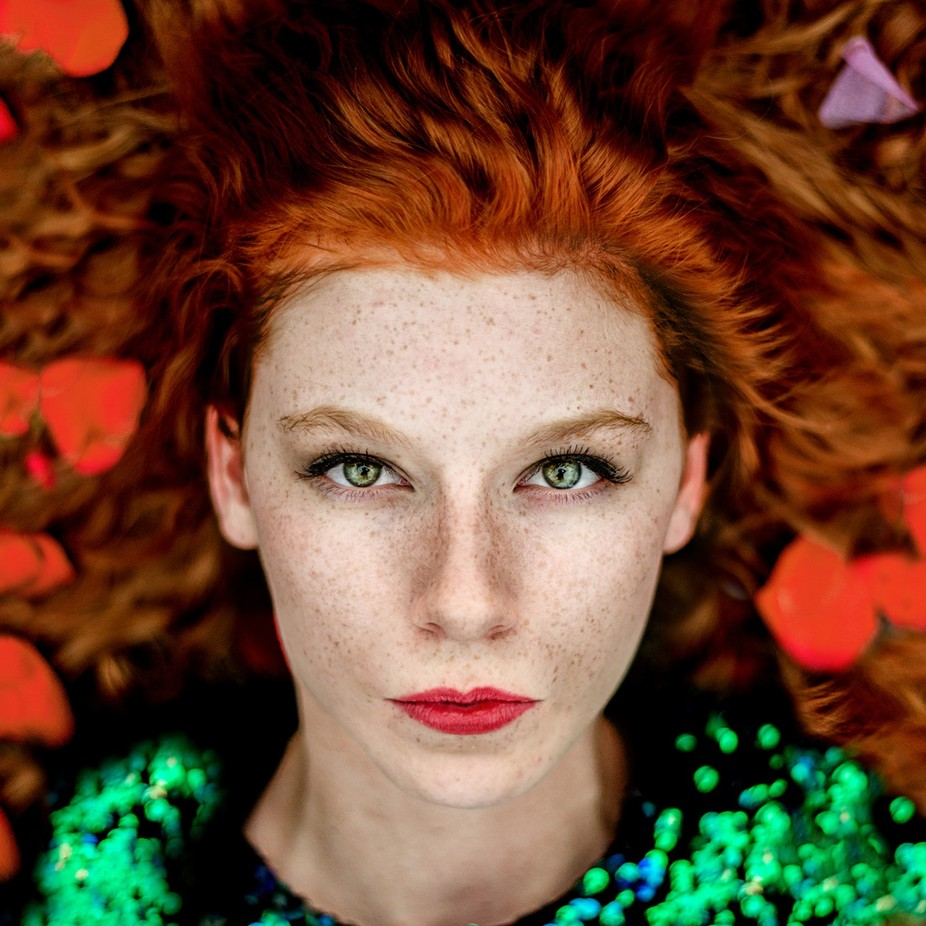 She by EdiV_Photography - Faces With Freckles Photo Contest