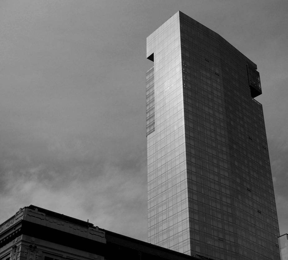 Modern Building in lower Manhattan
