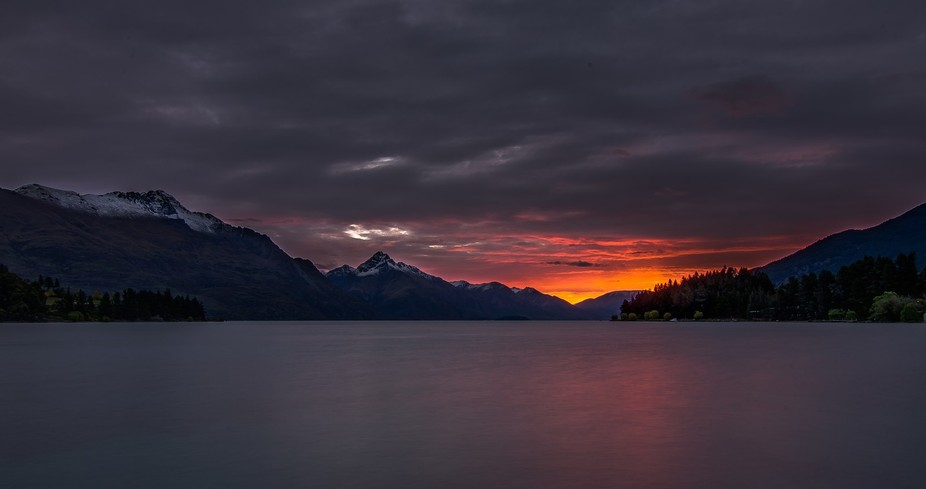 One of many beautiful sunsets here in Queenstown!