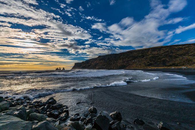 Sea Stacks at Vik by patrickyates
