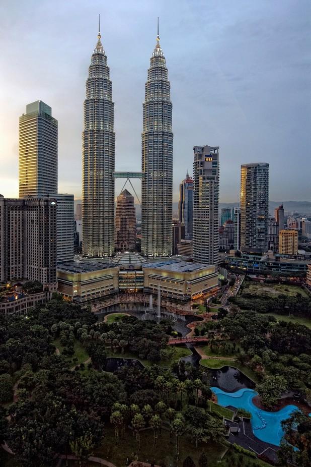 Petronas Towers by iriswaanders - City Views Photo Contest