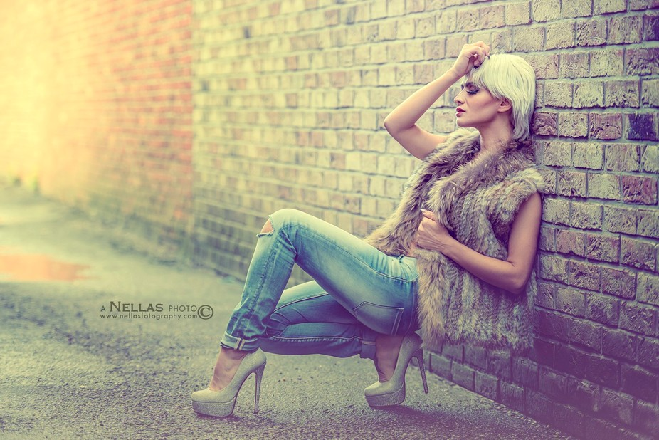 Model: Trudy Abela