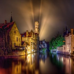 Bruges is magical. That's the only way I know how to describe it. After a night of taking photos I settled ion to do some processing to see ...