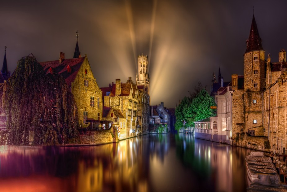 Bruges is magical. That's the only way I know how to describe it. After a night of takin...