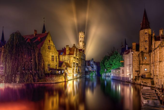 Rozenhoedkaai Bruges by Jason_Hayes - Canals Photo Contest