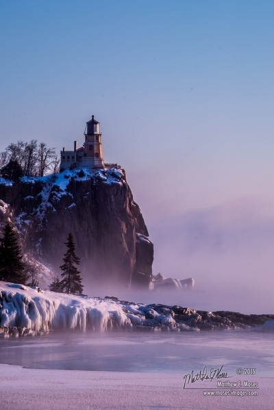 Lighthouse in the Mist