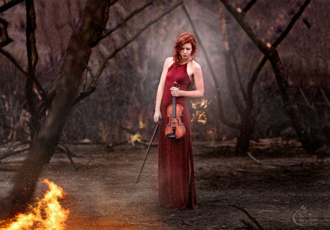 Last Song by EdiV_Photography - It Is Red Photo Contest