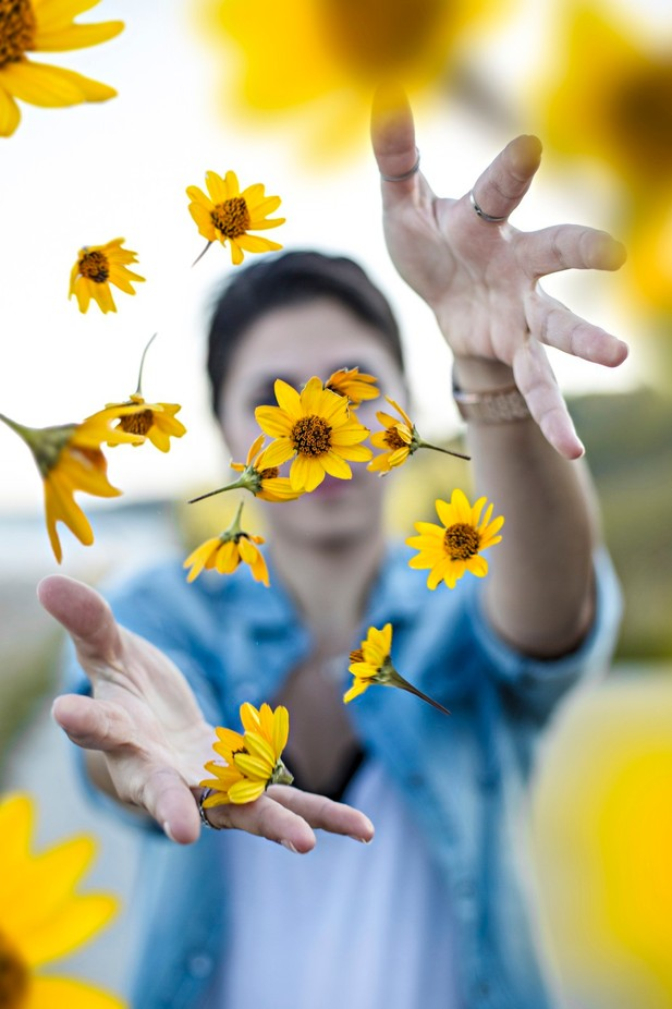 Flower Power by kylere - The Magic Of Editing Photo Contest