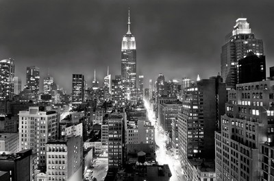 Empire-State-Building-from-235th-B&W
